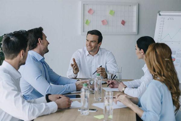 Reunión empresarios